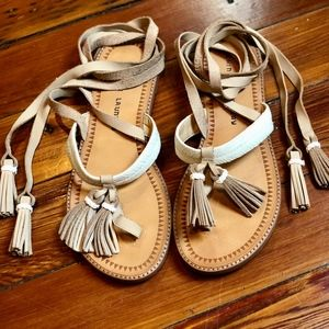 Chinese Laundry Giordana Tassel Sandal ✨